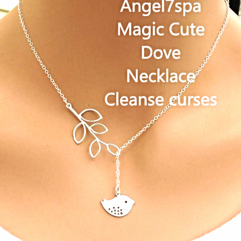 Magic Reiki  Cleanse Curses ,bad eye, bring  good luck Necklace  spellbound