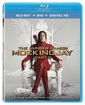 The Hunger Games: Mockingjay Part 2 [Blu-ray + DVD + Digital] [2016]