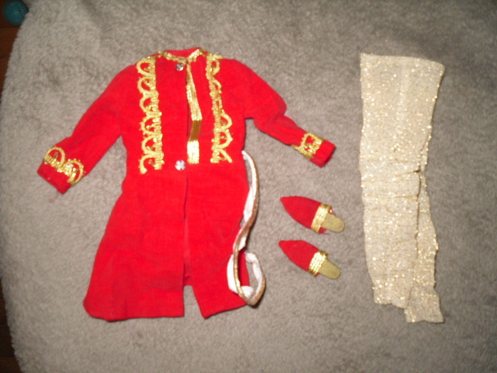 Vintage Barbie Doll Outfit - Arabian Nights Ken #0774 - 1964 BW Label