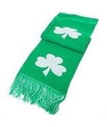Shamrock Scarf Winter Mens Womens St Patricks Day Parade Clothing Party ... - ₨832.36 INR