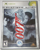 Xbox - 007 Everything Or Nothing (Complete With Manual) - $15.00