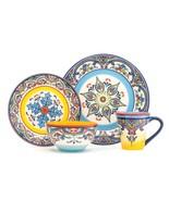 Zanzibar 16 Piece Stoneware Dinnerware Set by Euro Ceramica - $98.89
