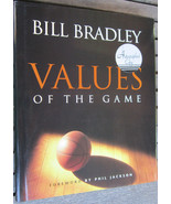 Bill Bradley Signed Book, Values of the Game - $32.99