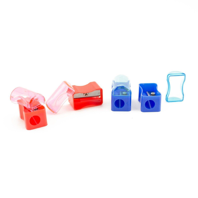 72pcs Mini Bulk Plastic Pencil Sharpener Cap School Supplies Kids Favors