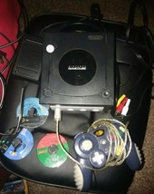 Nintendo GAMECUBE System Console DOL-001, 1 Controllers, 3 Games, Black,... - $69.30