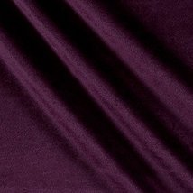 Ben Textiles Royal Velvet Plum Fabric by the Yard image 5