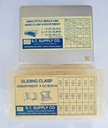 Watch Band Sliding Clasp, Single Link Band Clasp Assortment Various Lot ... - $23.86