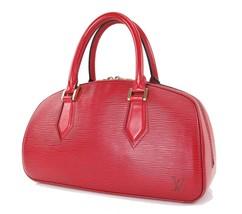Authentic LOUIS VUITTON Jasmine Red Epi Leather Hand Bag Purse #29551 - $459.00
