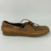 Timberland Mens Classic 2 Eye Boat Shoes Tan Leather 71065 Slip-on Laces... - $16.66
