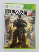 Gears of War 3 (Xbox 360, 2011) CIB Complete With Manual Tested and Working - $5.99