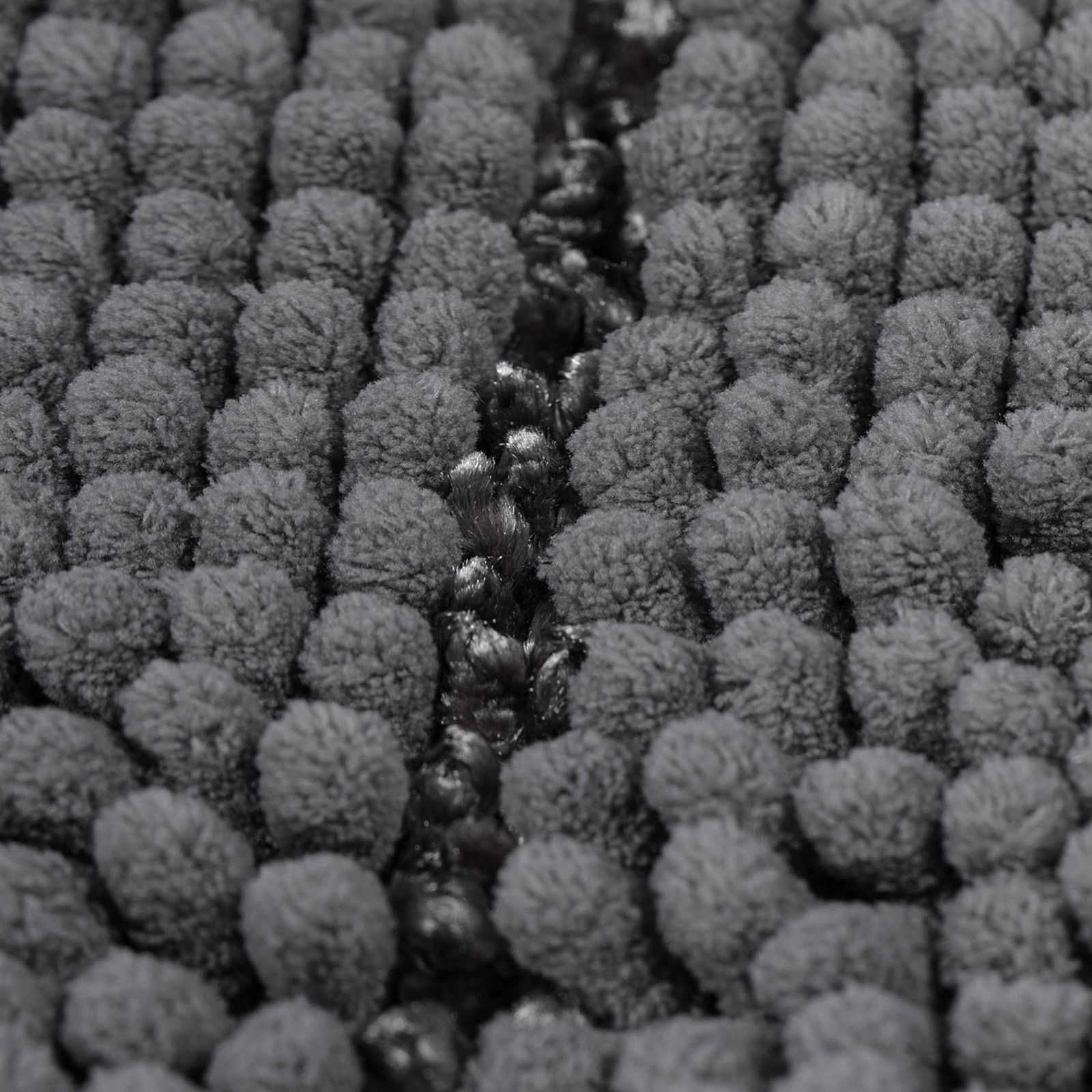 Non-Slip Bathroom Rugs Chenille Microfiber Floor Mat Fast Water Absorbent Gary
