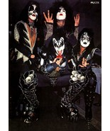 KISS Band 24 x 34 Japan Victor Reproduction Poster - Rock Concert Collec... - $45.00