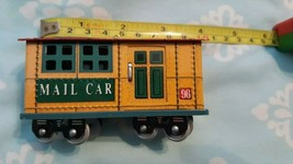 1996 Hallmark Mail Car Train Ornament  - $7.91