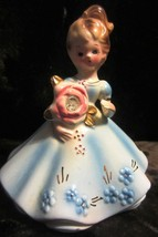 Vintage Josef Originals Figurine April Diamond - Super - $23.70