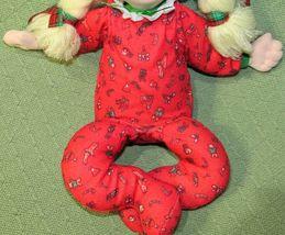 "16"" Applause CHRISTINE Vintage Cloth Doll Marge Toner CHRISTMAS Pajamas Blonde  image 4"