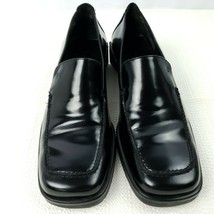 Cole Haan Womens Loafers 6.5 B Black Patent Leather Shoes D11180 Made in... - $39.60