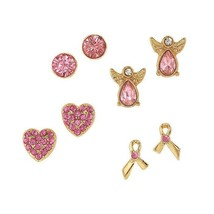 Avon Pink Hope Stud Earring Set - $14.85