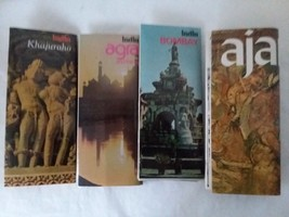 4 India Department of Tourism Tourist Pamphlets - $29.69