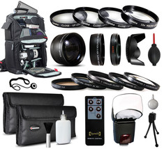 Backpack 55mm Lenses Filters Accessories f Sony A35 A37 A55 A57 A58 A65 A99 A100 - $116.05