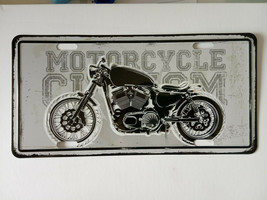motorbike /cycle Tin Sign - Metal Plaque, Vintage Metal Wall Decor, Bar ... - $15.67