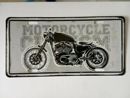 motorbike /cycle Tin Sign - Metal Plaque, Vintage Metal Wall Decor, Bar Pub Cafe - $15.67
