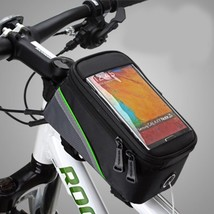 BICYCLE BAGS CYCLING BIKE FRAME IPHONE BAGS HOLDER PANNIER MOBILE PHONE ... - £13.67 GBP