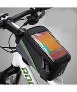 BICYCLE BAGS CYCLING BIKE FRAME IPHONE BAGS HOLDER PANNIER MOBILE PHONE ... - £13.64 GBP