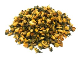 Yellow Rose Buds - Organic Dried brilliant Yellow Rose Petals Buds (Rosa... - $9.93