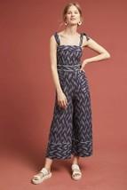 New Anthropologie Ikat Jumpsuit by ett:twa,  Retail $158  Blue Size 4 - $53.46