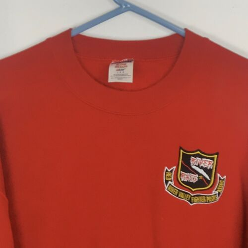 Primary image for River Rats - Red River Valley Fighter Pilots Assoc Men's LARGE Red Sweatshirt