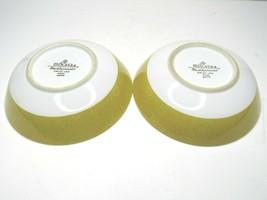 "2 VTG Mikasa Mediterrania Empire Gold 4994 Soup Salad Dessert 6 1/2"" MCM... - $43.23"