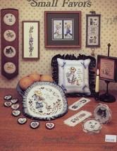 Small Favors Cats Kids Religion Stoney Creek Cross Stitch Pattern Booklet - $2.67