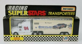 1997 Matchbox Racing Super Stars Transporters New Holland Limited Edition - $17.70