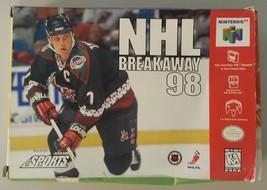 N) NHL Breakaway 98 (Nintendo 64, 1998) Video Game - $4.94