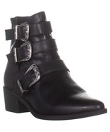 madden girl Cecilyy Pointed Toe Ankle Boots, Black Pari - $28.99