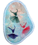 Essence of Ballet: Quilted Art Wall Hanging - €262,22 EUR