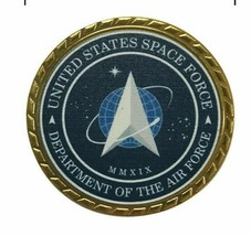 UNITED STATES SPACE FORCE DEPARTMENT OF THE AIR FORCE CHALLENGE COIN  - $14.24