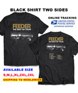 Feeder 2018 the best of tour f1 black t shirt available s 3xl sizes thumbtall