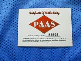 KRISTAPS PORZINGIS / AUTOGRAPHED DALLAS MAVERICKS CUSTOM BASKETBALL JERSEY / COA image 6