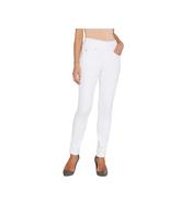 Belle Kim Gravel Flexibelle Pull-On Knit Jeggings, White, Reg. 12 - $29.69