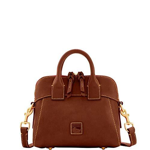Dooney & Bourke Florentine Cameron Mini Satchel Crossbody Chestnut