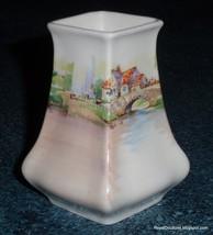 "Royal Doulton ""Old English Inns"" Collectible Earthenware Vase D6072 - GR... - $41.89"