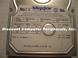 Maxtor 72700AP 2.7GB IDE 3.5in Drive 2 In stock Tested Good + Free USA S... - $24.45