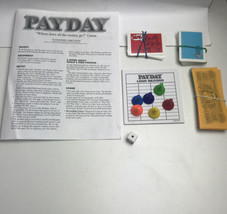 Payday Board Game Replacement Cards Money Pads Dice and Pieces 1994 - $11.87