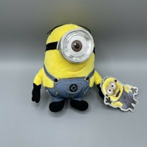 """Minions Stuart Despicable Me Universal Studios Brand New With Tag 6"""" - $16.82"""