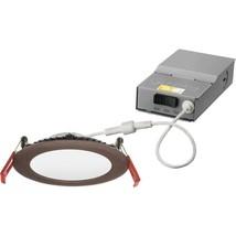 Lithonia Lighting Wafer 4 in. Recessed Integrated LED Kit 3000K 4000K 5000K - $19.79