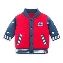 Baby Boy varsity Jacket Outwear & Coat Winter Newborn Infant Baby Boy - $31.71 CAD+
