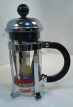 Bodum CHAMBORD Coffee Maker, French Press Coffee Maker 12 ounce 3-cup NOS - $23.33