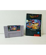 Time Slip (Super Nintendo, 1993) SNES Original Authentic Tested - w/ Man... - $31.97