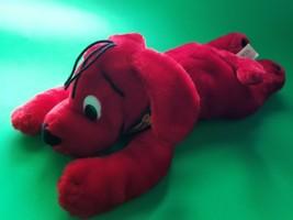 Clifford The Big Red Dog Plush Stuffed Animal 2001 Scholastic Books Nanc... - $14.80